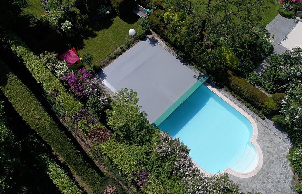 Couverture de piscine - Coverseal Belgique