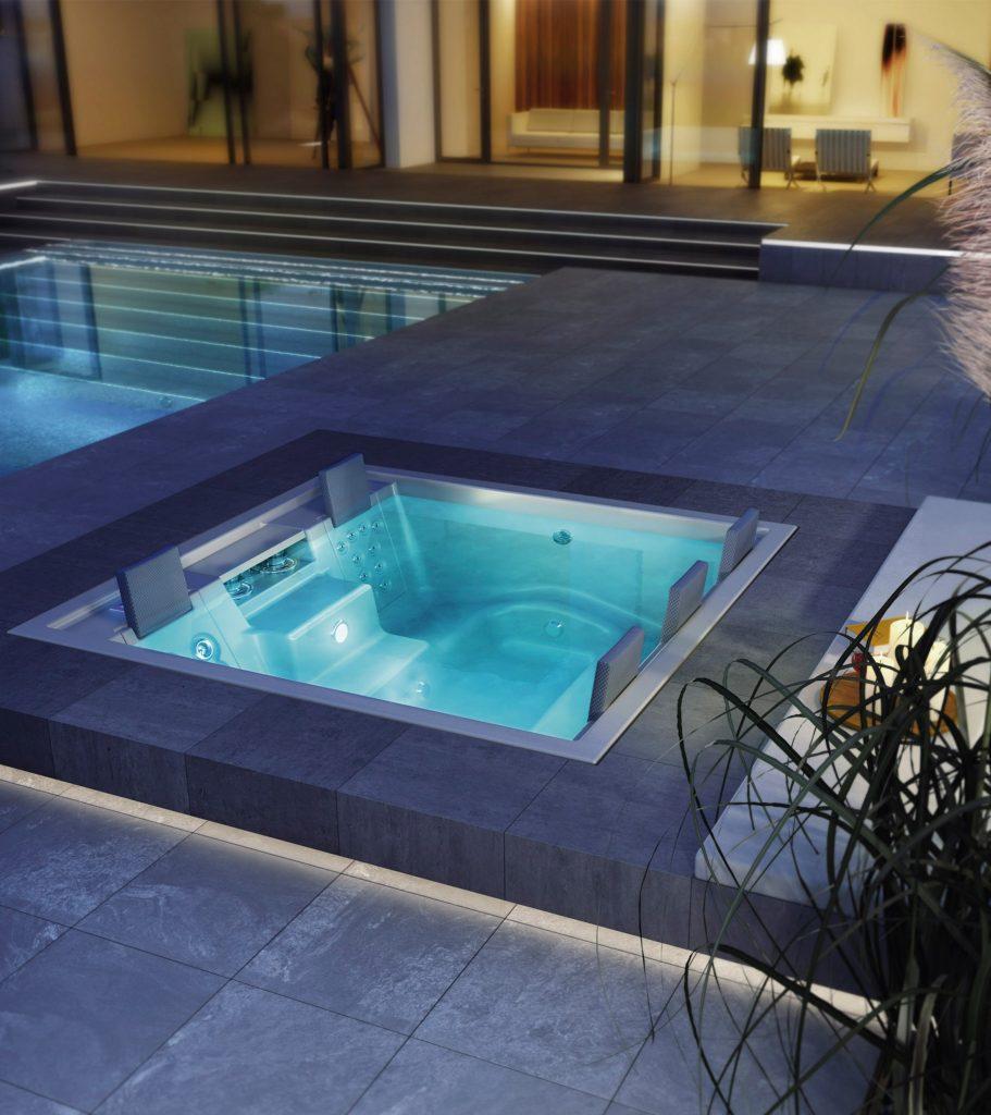 Delvaux Wellness Riviera pool spa2
