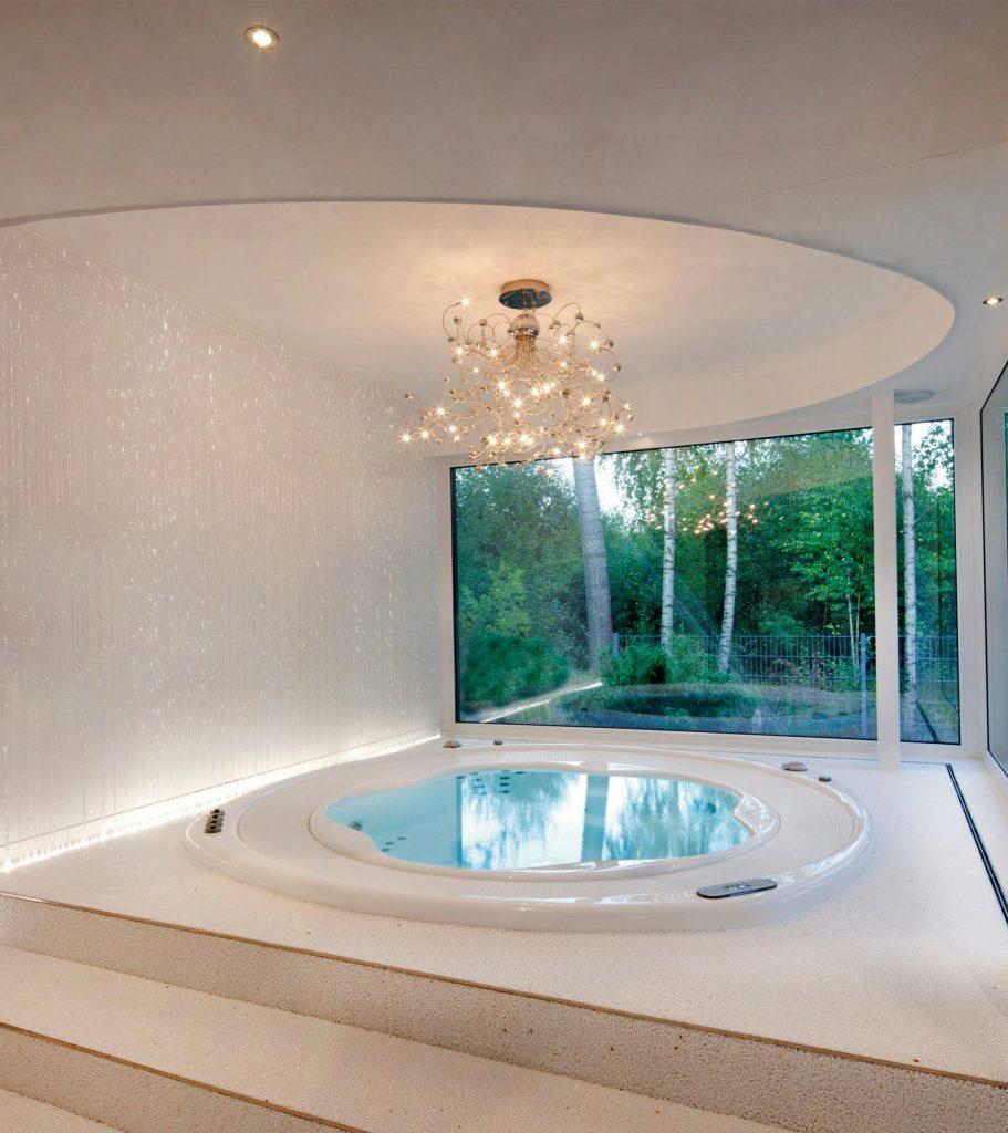 Delvaux Wellness Riviera pool spa9