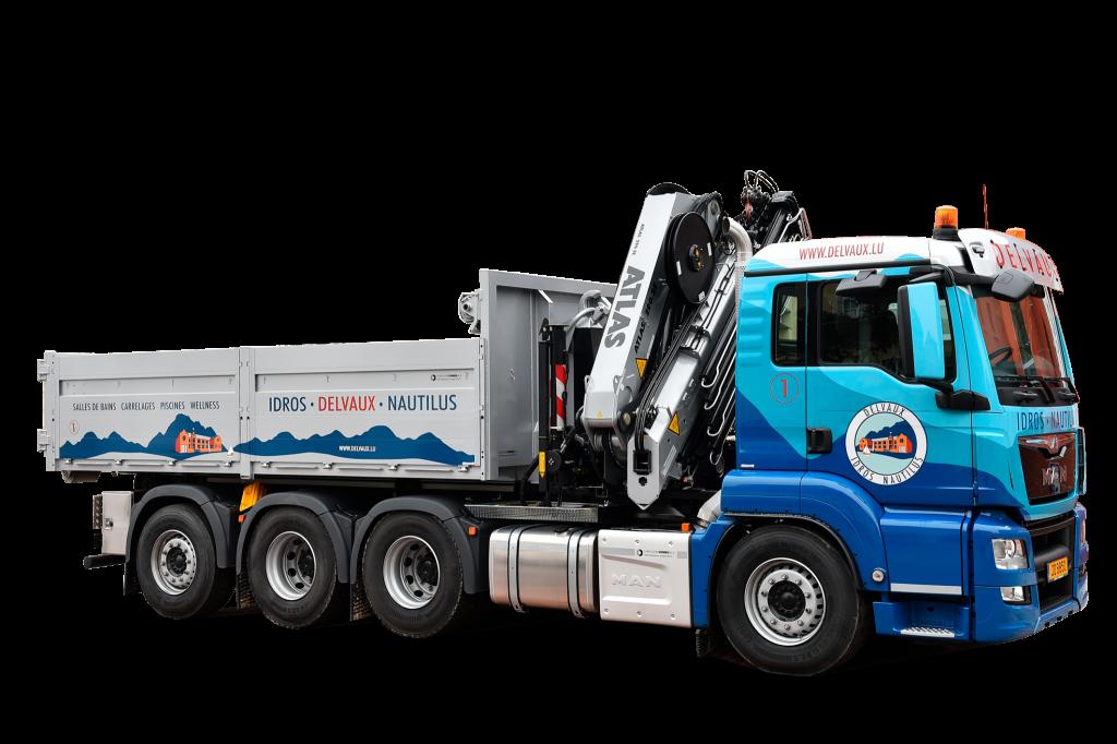 Delvaux: camion 0,5x