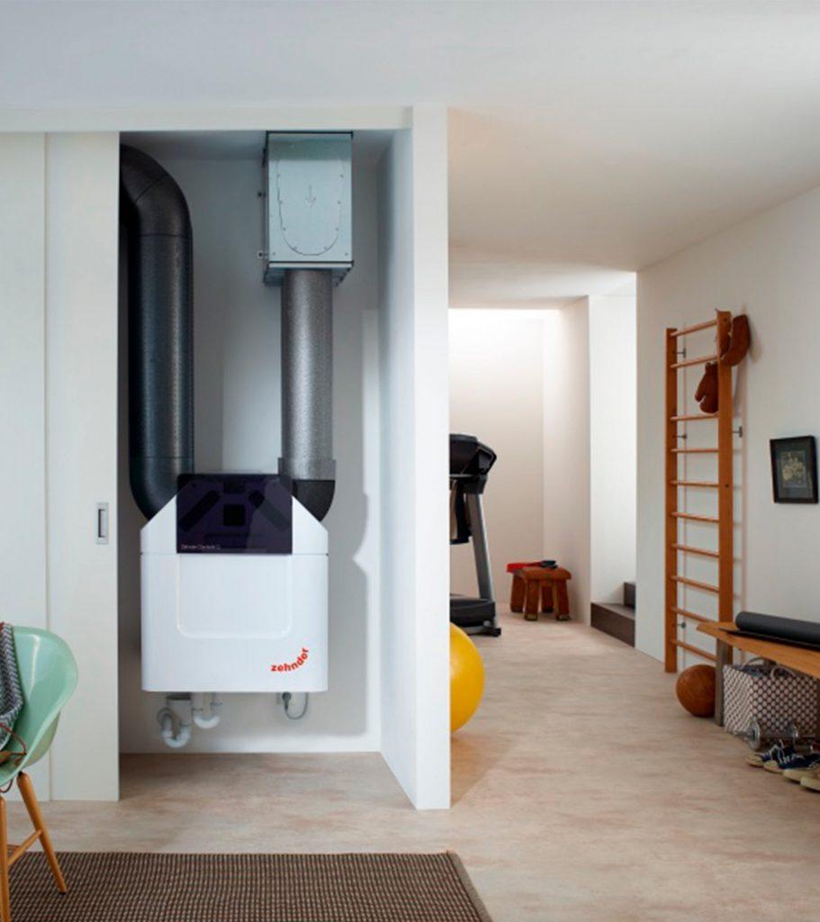 Delvaux Ventilation zehnder